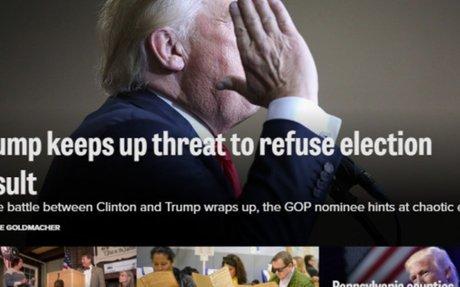 Desconcierto: Trump siembra sospechas y augura el caos - MDZ Online
