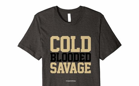 Cold Blooded Savage Premium Football T-shirt