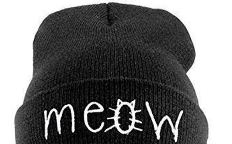 ShungHO Beanie Hat Winter Warm Knitted White Cat Beret Cap at Amazon Women's Clothing stor
