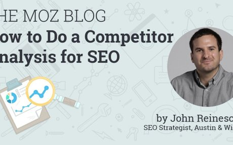 How to Do a Competitor Analysis for SEO (Free Template!)