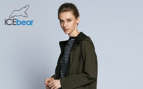 ICEbear 2018 nouvelle femme tranchée manteau de mode avec plein manches design € 84,04