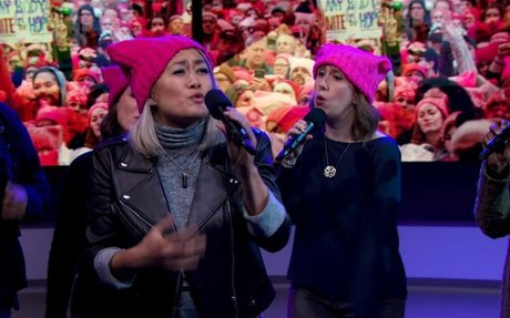 """MILCK Performs """"Quiet"""" with GW Sirens and Capital Blend 