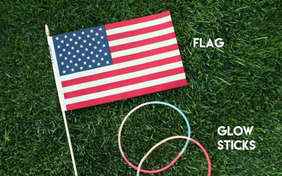Ring the flag! Fun Fourth of July game