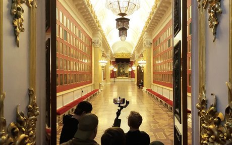 Apple's New Five-Hour iPhone Ad Takes Viewers on a Dreamy Tour of the Hermitage Museum ...