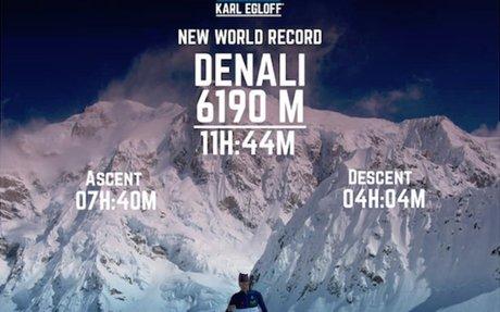 Doppio record di Karl Egloff sul Denali (6.190 m) | MountainBlog
