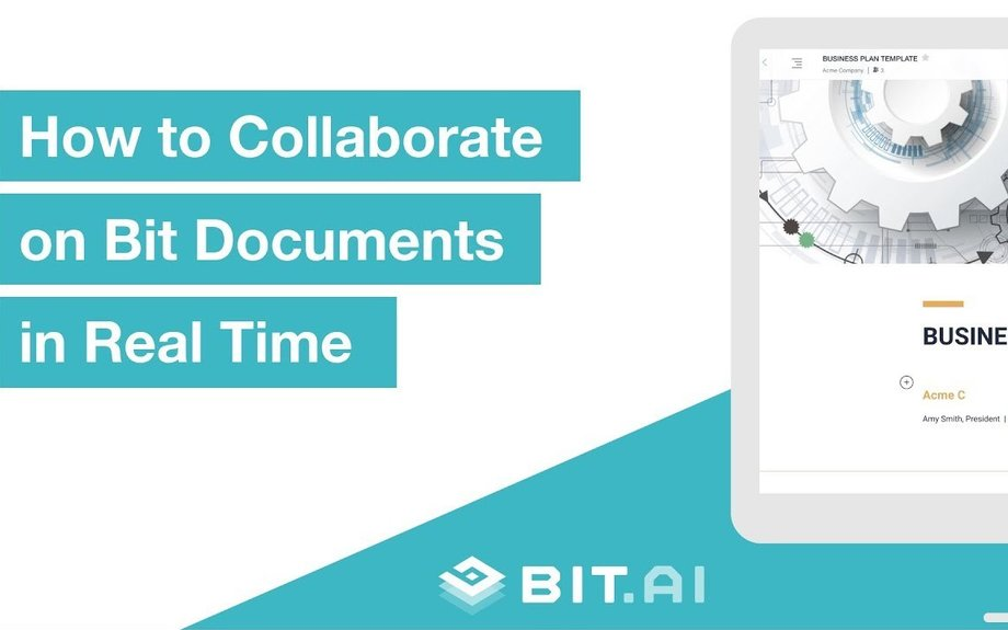 How to Collaborate in Real-Time | Bit | Real-Time Document Collaboration