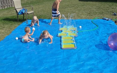 It's Our very Own Splash Pad