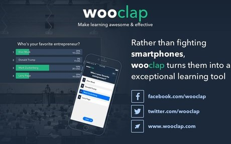 Wooclap - An interactive platform that makes learning awesome