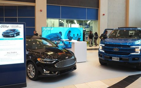 "Ford Launches 1st in North America ""Smart Lab"" Retail Concept in Québec City"