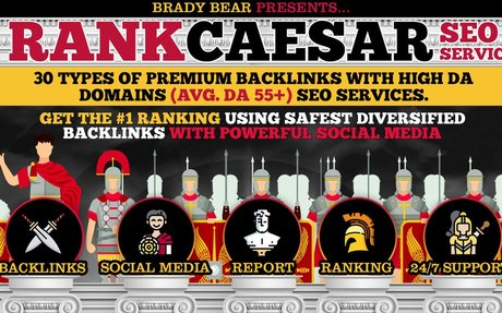 RANK CAESAR 2.0 - Bulletproof GOOGLE PAGE 1 RANKING 2020 Strategy - 200+ Links- Premium...