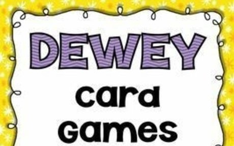 Library Skills: Dewey Decimal Card Games for the School Library Media Center