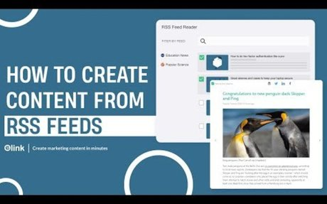 How to Create Content from RSS Feeds