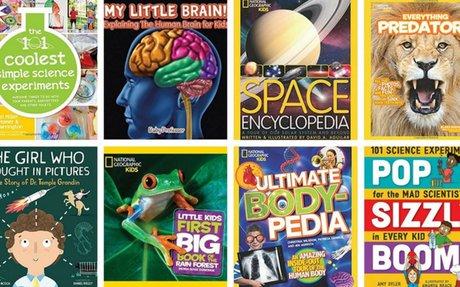 23 Inspiring Science Books for Kids in Elementary School