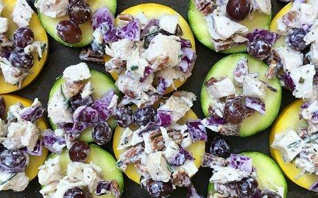 Rosemary Pecan Chicken Salad