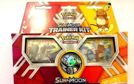Pokemon TCG Sun and Moon Trainer Kit Lycanroc & Alolan Raichu: 2 x 30-Card Decks  | eBay