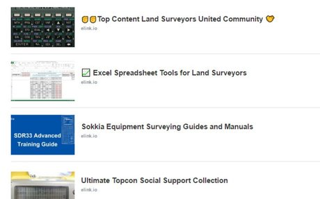 Mobile Surveyor Guides Collections