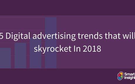 5 Digital advertising trends that will skyrocket In 2018   Smart Insights