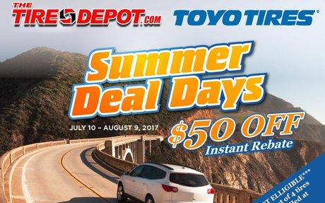 Lowest Tire Prices Online | Discount Tires | TheTireDepot.com