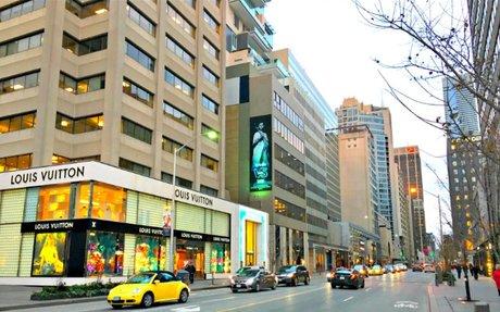 Study Ranks Canada's Top Retail Streets