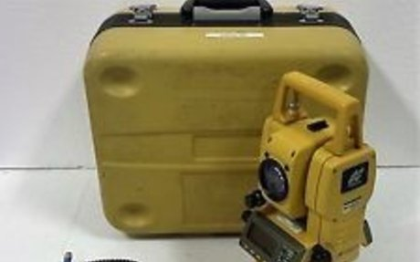 Topcon GTS 810A Auto-Tracking Total Station Guide