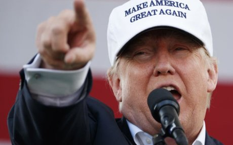 Trump Argues There's 'No Right' To Protest Inside His Campaign Rallies