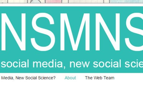 The blog of the New Social Media New Social Science network