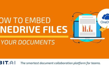 How to Embed OneDrive Files in Your Documents - Bit Blog