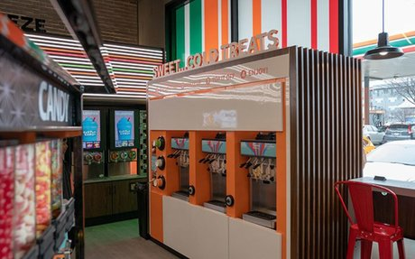 Brand Highlights // 7-Eleven unveils 'lab' store