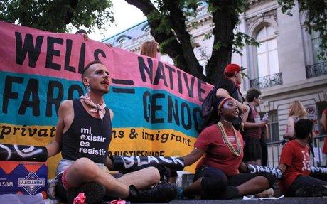 'No Justice, No Pride' Protest Highlights Fault Lines In D.C. LGBTQ Community | WAMU