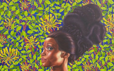 Kehinde Wiley | Shantavia Beale II (2012) | Artsy