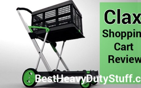 [2017] Clax Collapsible Folding Shopping Cart Review -Best Heavy Duty Stuff