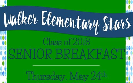 Walker Elementary Senior breakfast