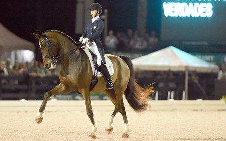 Dressage:  Graves Debuts A New Winning Freestyle At AGDF CDI*****