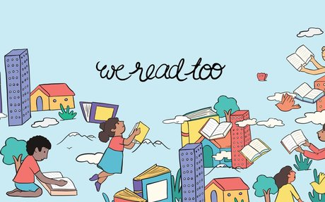 We Read Too – A directory of children and teen books written by authors of color.
