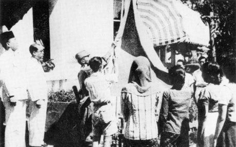The Raising of the Flag