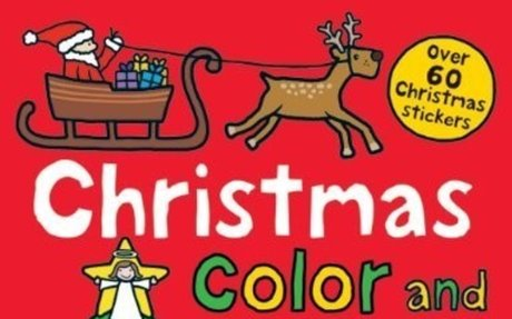 Christmas Preschool Color and Activity Book: Roger Priddy