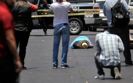 Most Lethal to Journalists: 1. War Zones 2. Mexico