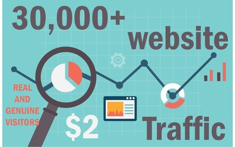 TARGETED real human Website TRAFFIC for 6 months for $9 - SEOClerks