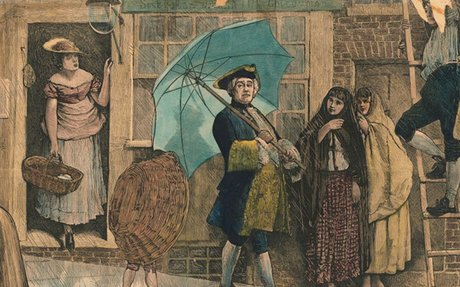The Public Shaming of England's First Umbrella User