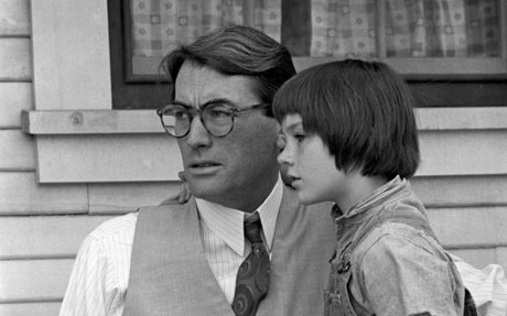 To Kill a Mocking Bird: Scout and Atticus