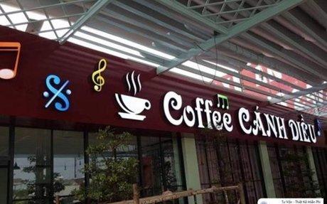 Bảng hiệu đẹp cho quán cafe , Tp hcm Bảng hiệu quảng cáo là một thành