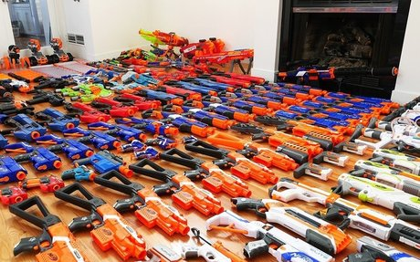 My Massive Nerf Gun Arsenal + Modified Nerf Blasters