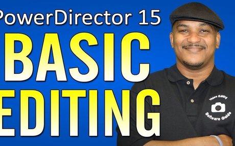 Basic Editing Tutorial |