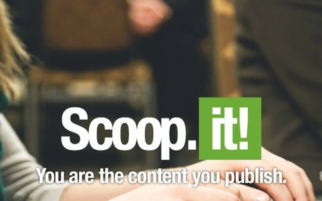 Scoop.it   You Are The Content You Publish