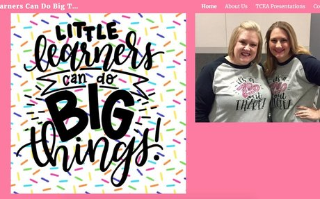 Little Learners Can Do Big Things! - TCEA Presentations