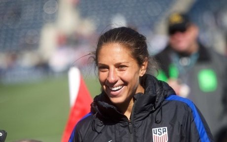 Carli Lloyd: Why I'm Fighting for Equal Pay