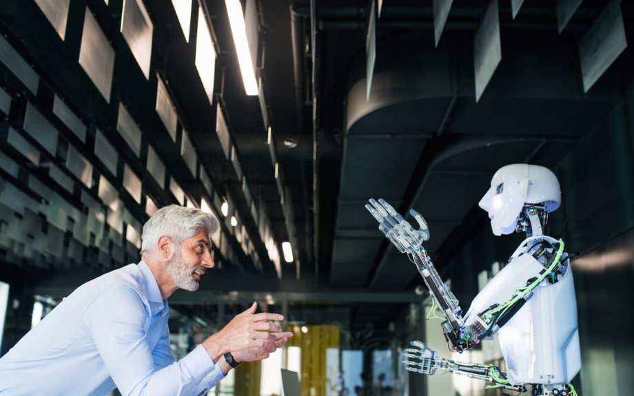 Artificial intelligence will lead to a 'positive shift in the work people do'