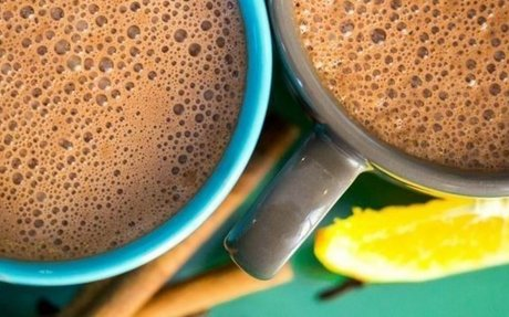 Narancsos forró csoki - a tökéletes kényeztető ital