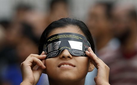 7) How to safely view the total solar eclipse