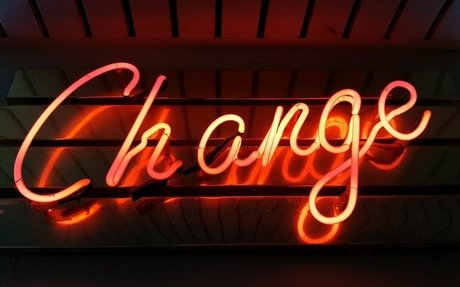 Change photo by Ross Findon (@rossf) on Unsplash